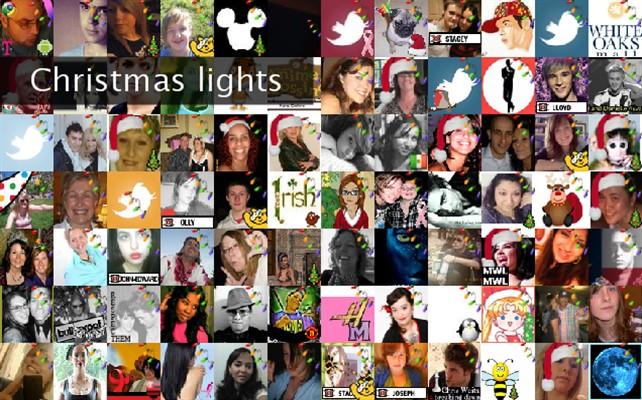 Christmas lights Twibute 100
