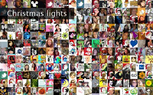 Christmas lights Twibute 250