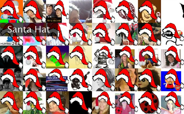 Santa Hat Twibute 50