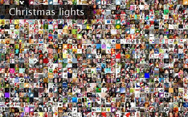 Christmas lights Twibute 1000