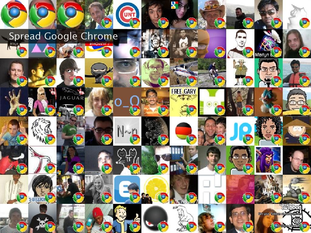 Spread Google Chrome Twibute 100