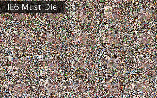 IE6 Must Die Twibute 15000