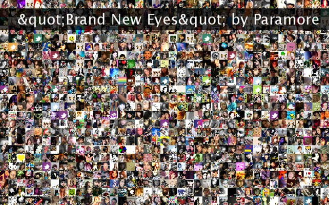 """""""Brand New Eyes"""" by Paramore Twibute 1000"""