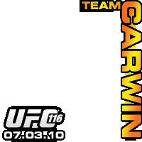 UFC 116 Team Carwin