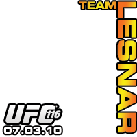 UFC 116 Team Lesnar