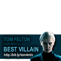 Tom Felton for Best Villain
