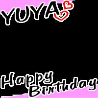 YUYA HappyBirthday