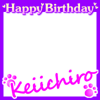 happy birthday keiichiro