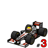 F1 2011 Lewis Hamilton