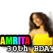 Happy 30th Bday  Amrita Rao