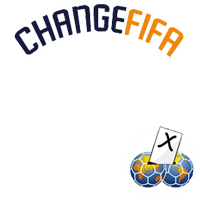 Change FIFA #blatterout