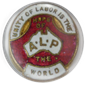 old ALP badge