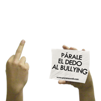 Párale el dedo al Bullying!!