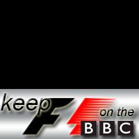 Keep F1 on BBC