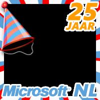 Microsoft Nederland 25 jaar!
