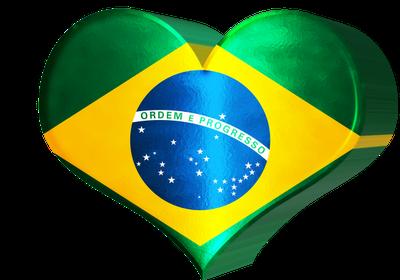 Amo meu BRASIL verde amarelo