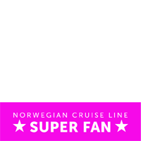 Norwegian Super Fan Pink