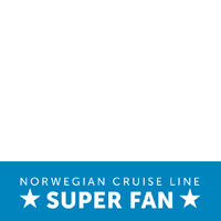 Norwegian Super Fan Blue