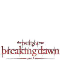 Twilight - Breaking Dawn