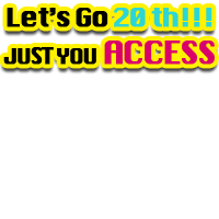 AXS-Let's Go 20th!!! Logo-