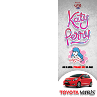 Yaris Katy Perry