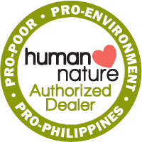 Human Nature Dealer Badge