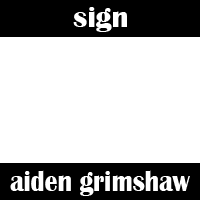 Sign Aiden Grimshaw