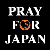 """""""PRAY FOR JAPAN""""KinKiFamily白"""