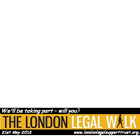 London Legal Walk 2012