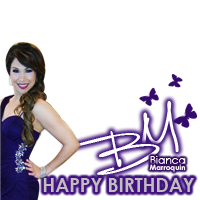 Happy Birthday Bianca M !