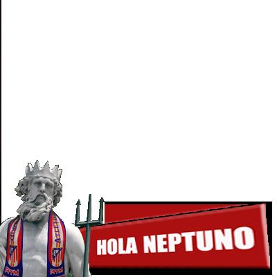 #HolaNeptuno cc @Atleti
