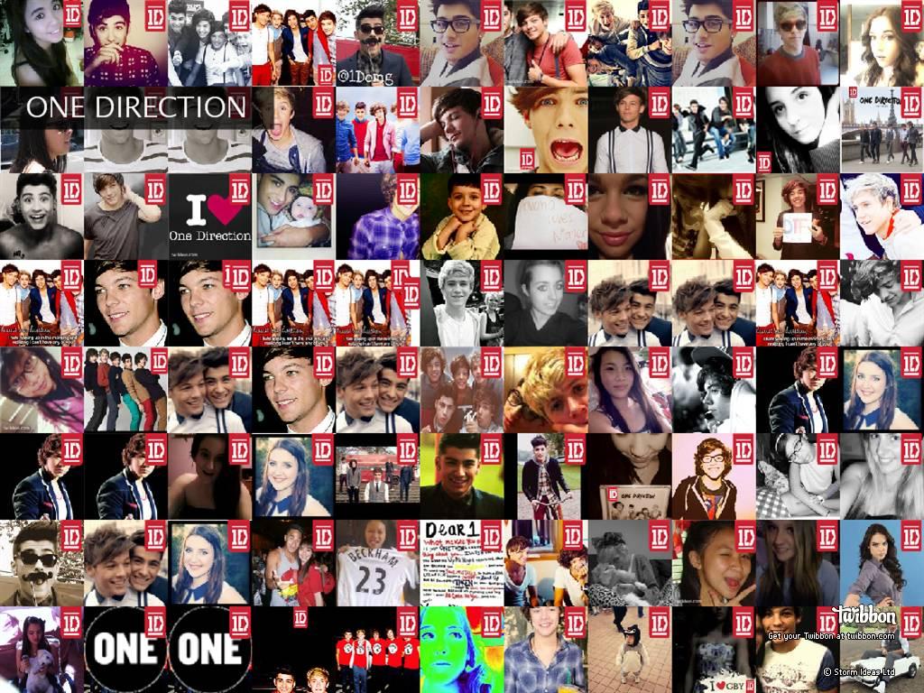One Direction Collage Twitter Background | www.pixshark ...