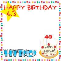 HIRO Birthday2012