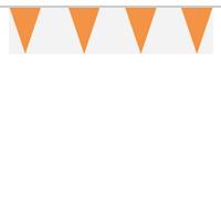 Oranje vlaggetjes