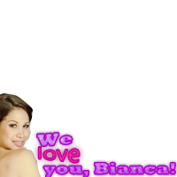 We love you Bianca Marroquin