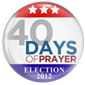 40 Days Of Prayer!
