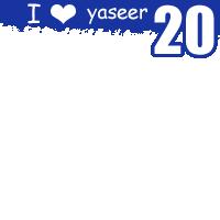I love yaseer