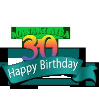 MASAKI AIBA 30歳 Birthday