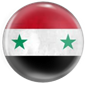 Supporting the Syrian flag