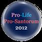 Pro-Life Pro-Santorum 2012
