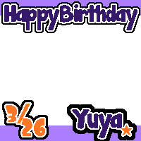 takaki yuya happy birthday