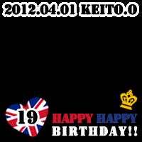 keito okamoto 19th birthday