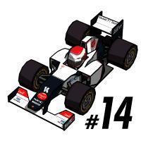 Kamui Kobayashi F1 2012
