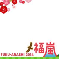 Fuku Arashi 2014 frame