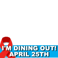 Dining Out for Life in DC on April 25th