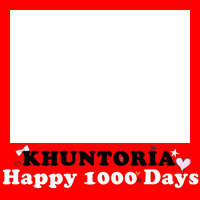 Happy 1000 Days KHUNTORIA