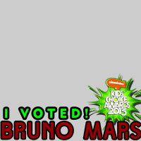 @BrunoMars on #KCA