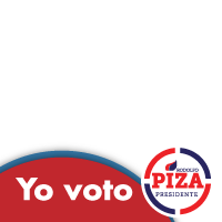 Yo voto Rodolfo Piza