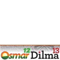 Dilma-13 e Osmar-12