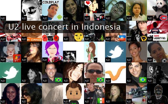 U2 live in concert Indonesia - Resources - U2 live concert in